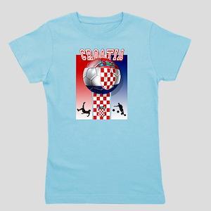 Croatian Football Girl's Tee