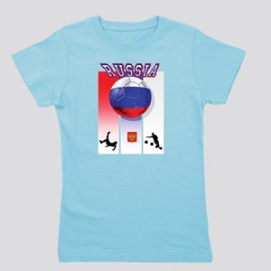 Russian Football Girl's Tee