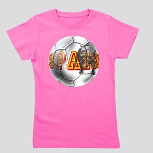 Spanish Soccer Ball Girl's Tee