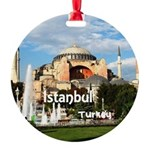 Istanbul Round Ornament