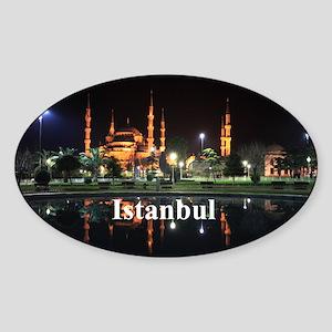 Istanbul Sticker (Oval)