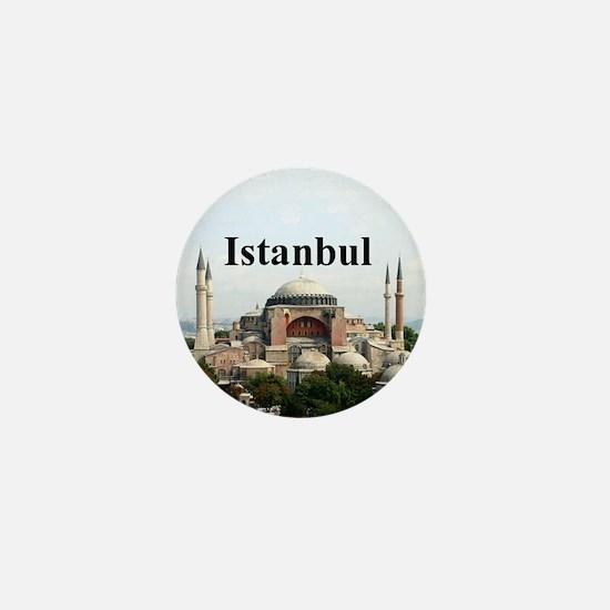 Istanbul Mini Button