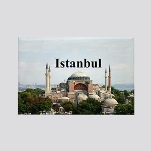 Istanbul Rectangle Magnet