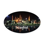 Istanbul Oval Car Magnet