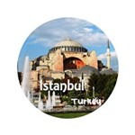 "Istanbul 3.5"" Button (100 pack)"