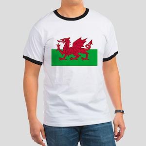Welsh Flag of Wales Ringer T