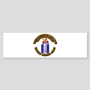 COA - Infantry - 187th Infantry Regiment Sticker (