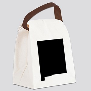 Black Canvas Lunch Bag