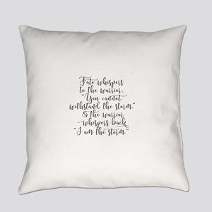 Fate Whispers Everyday Pillow
