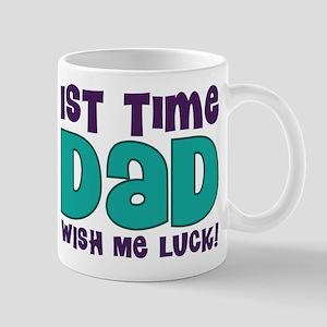 1st Time Dad Funny Mug