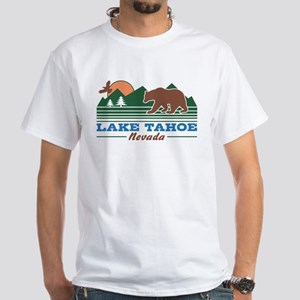 Lake Tahoe Nevada White T-Shirt