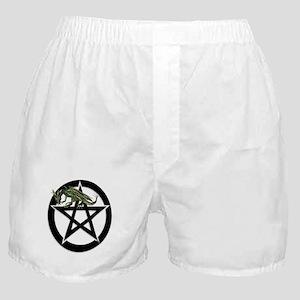 Dragon Pentacle Design Boxer Shorts