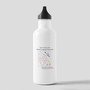 SpecGram NLP ..Flies L Stainless Water Bottle 1.0L