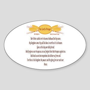 The Lords Prayer Wheat Sticker
