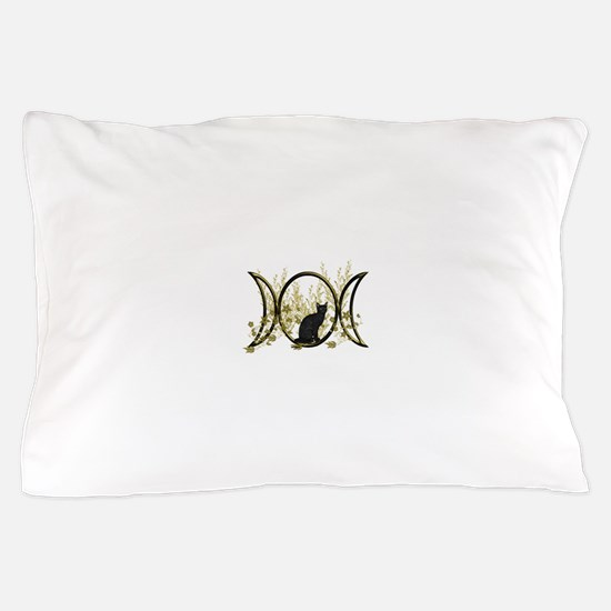 Triple Moon Art Series Cat Pillow Case