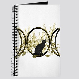 Triple Moon Art Series Cat Journal