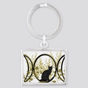 Triple Moon Art Series Cat Keychains