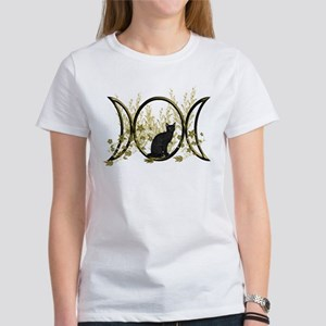 Triple Moon Art Series Cat T-Shirt
