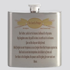 The Lords Prayer Wheat Flask