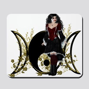 Goddess Triple Moon Art Series Design 5 Mousepad
