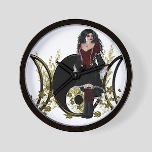 Goddess Triple Moon Art Series Design 5 Wall Clock