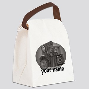 Shutter Bug Canvas Lunch Bag