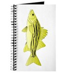 Yellow Bass fish 2 Journal