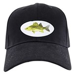 Yellow Bass fish 2 Baseball Hat
