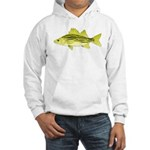 Yellow Bass fish 2 Hoodie