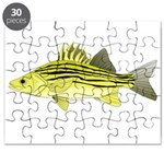 Yellow Bass fish 2 Puzzle