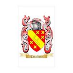Cavalliere Sticker (Rectangle 50 pk)