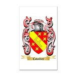 Cavallier Rectangle Car Magnet
