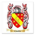 Cavallie Square Car Magnet 3