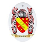 Cavallie Ornament (Oval)