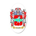 Cavalli Oval Car Magnet