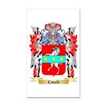 Cavalli Rectangle Car Magnet
