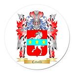 Cavalli Round Car Magnet