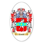 Cavalli Sticker (Oval 10 pk)