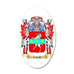 Cavalli 35x21 Oval Wall Decal