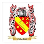 Cavallero Square Car Magnet 3