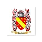 Cavallero Square Sticker 3