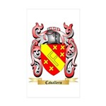 Cavallero Sticker (Rectangle 10 pk)
