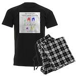 SpecGram NLP Pretty Little Gir Men's Dark Pajamas