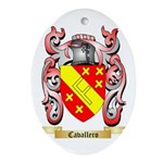 Cavallero Ornament (Oval)