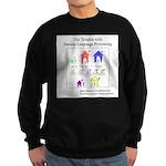 SpecGram NLP Pretty Little Girls Sweatshirt (dark)