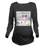 SpecGram NLP Pretty Long Sleeve Maternity T-Shirt