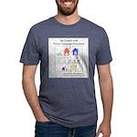 SpecGram NLP Pretty Little Mens Tri-blend T-Shirt