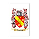 Cavallaro Rectangle Car Magnet