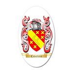 Cavaliero 35x21 Oval Wall Decal
