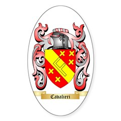Cavalieri Sticker (Oval 50 pk)